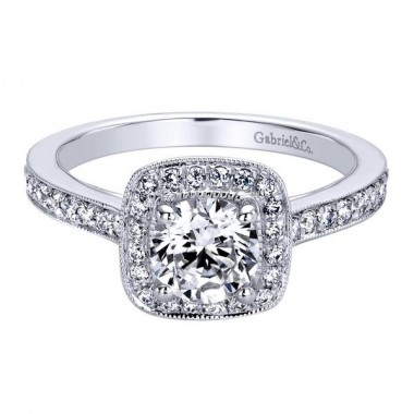 Diamond Engagement Ring by Gabriel & Co.