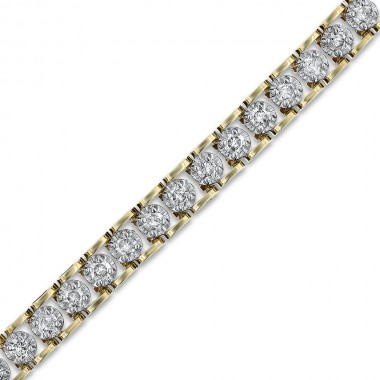1.50TCW Diamond Tennis Bracelet