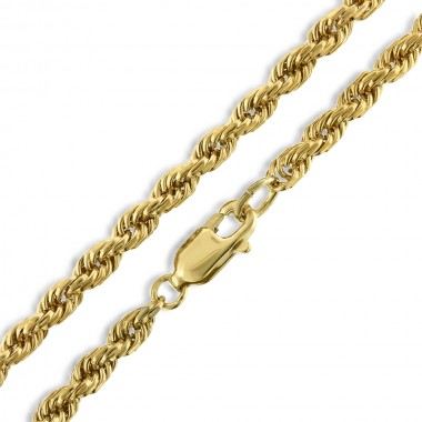 21 Inch Rope Chain