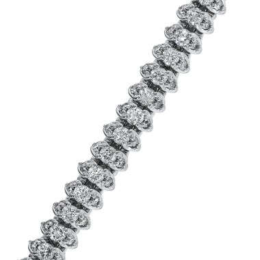 4.00TCW Diamond Tennis Bracelet