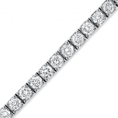 7.00 TCW Diamond Tennis Bracelet