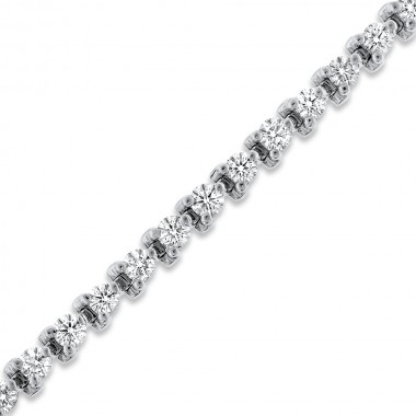 3.00 TCW Diamond Tennis Bracelet