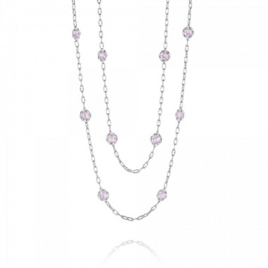 Rose Amethyst Necklace by Tacori