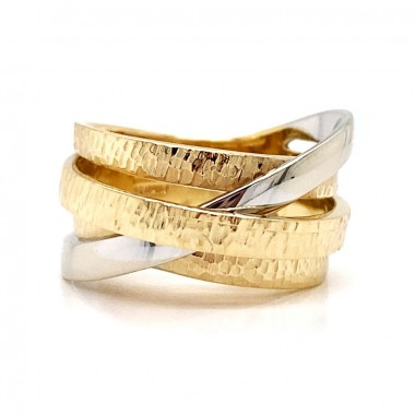 Two Tone Layer Ring