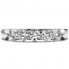 Five Stone Diamond Band by Hearts on Fire