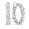 Fulfillment Diamond Hoops by Hearts on Fire