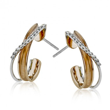 SimonG Diamond Earrings