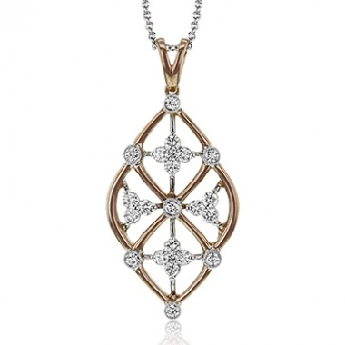 Classic Romance Diamond Necklace