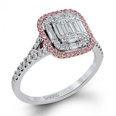 Simon G Mosaic Diamond Ring