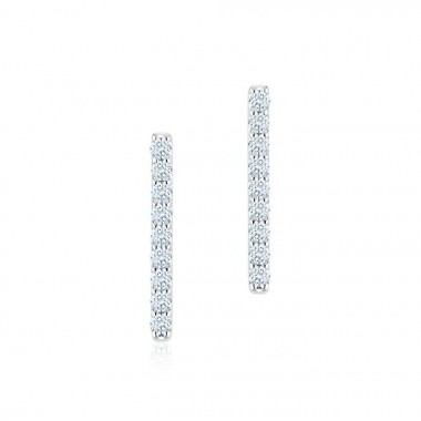 Birks Rosée du Matin | Diamond Bar Earrings