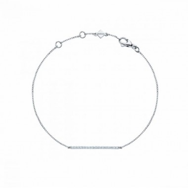 Rosée du Matin | Diamond Horizontal Bar Bracelet