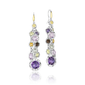 Color Medley earrings from Tacori and cjex.net