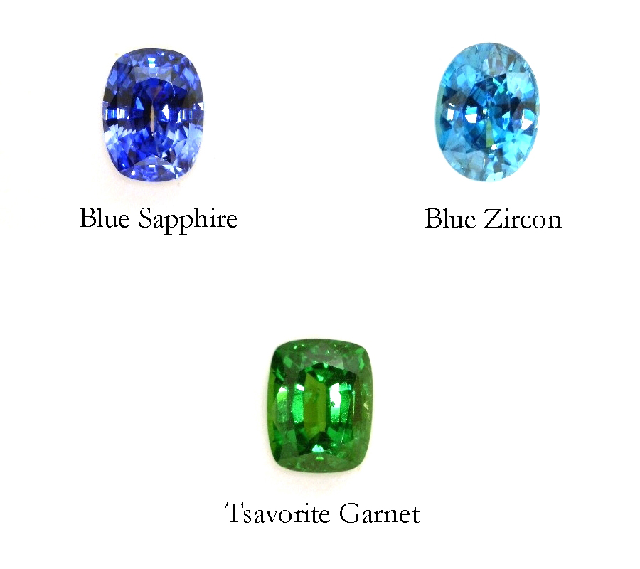 Brightly colored gemstones from cjex.net