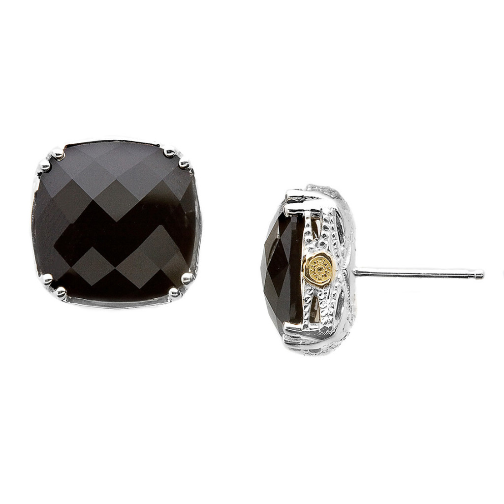 Tacori Black Onyx Oversized Studs from cjex.net