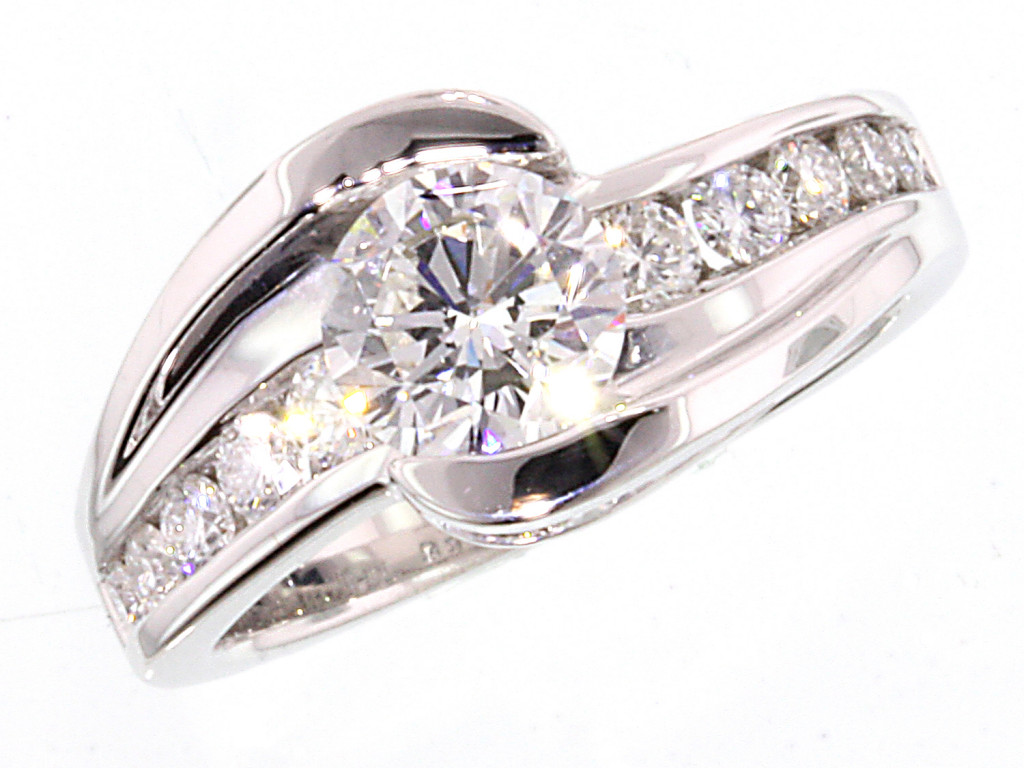1.68TCW Diamond Engagement Ring