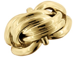 Yellow gold knot Birks ring from cjex.net