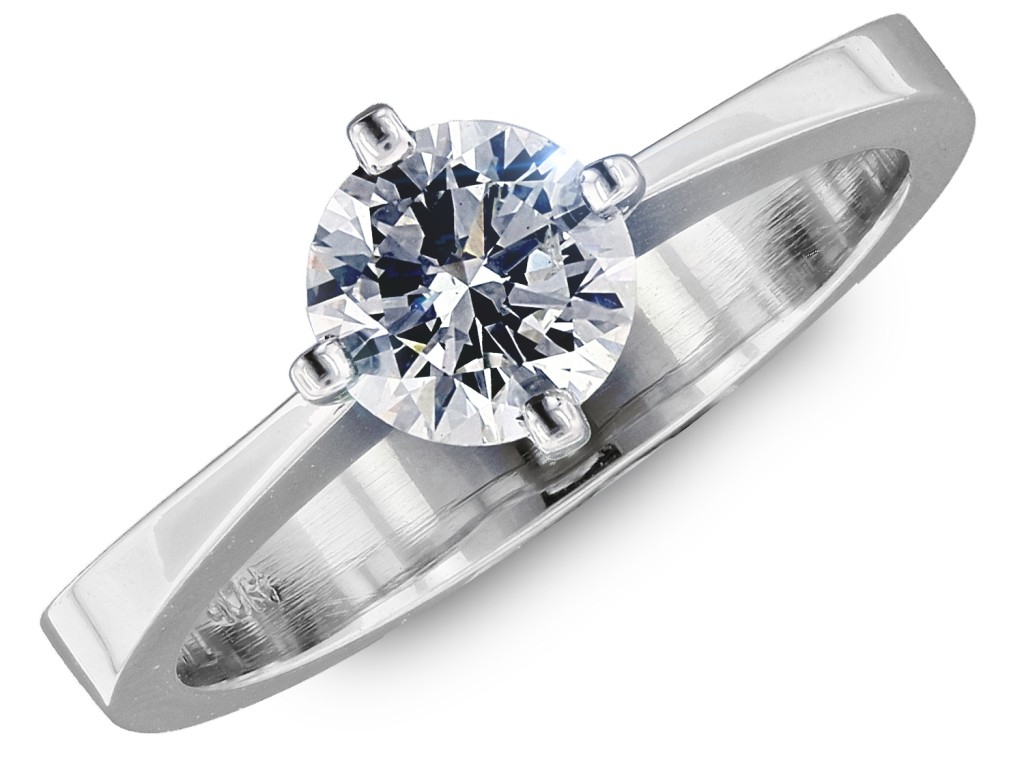 Classic diamond solitaire from cjex.net